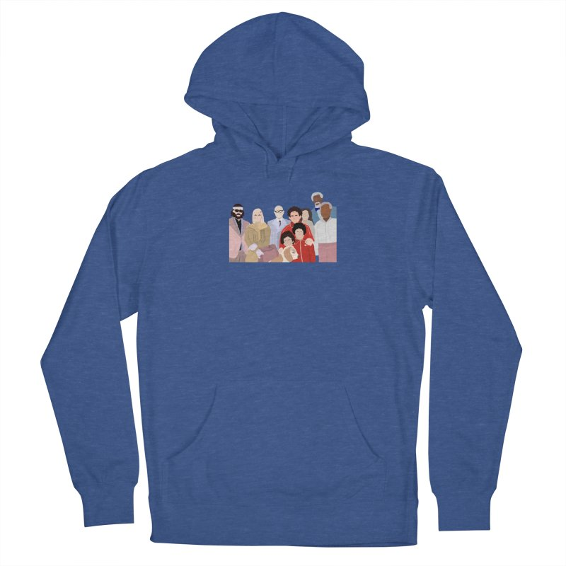 The Royal Tenenbaums Women's French Terry Pullover Hoody by Alison Sommer's Artist Shop
