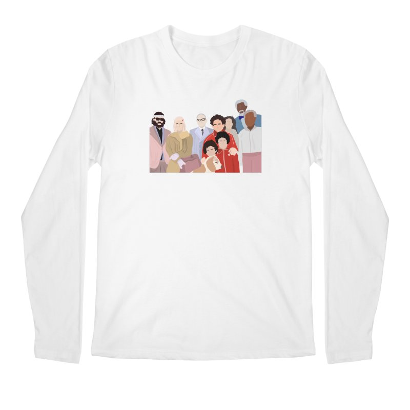 The Royal Tenenbaums Men's Regular Longsleeve T-Shirt by Alison Sommer's Artist Shop
