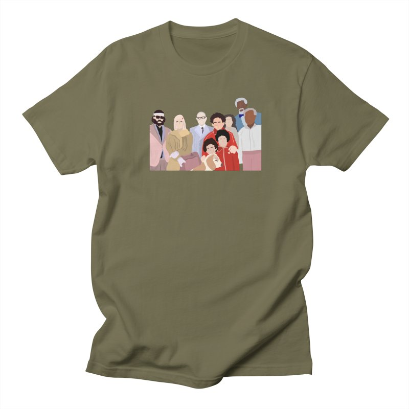 The Royal Tenenbaums Men's T-Shirt by Alison Sommer's Artist Shop