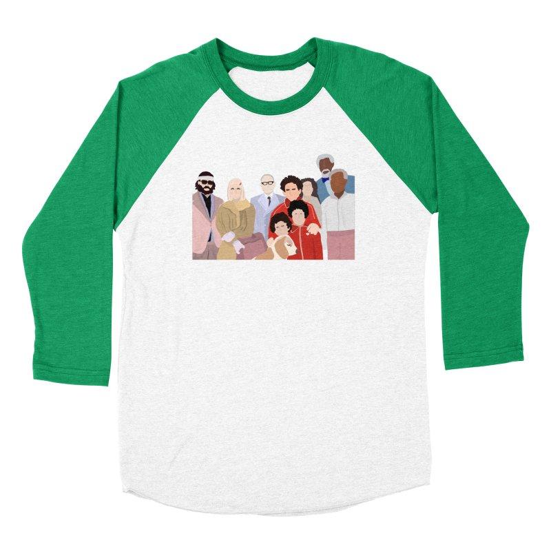 The Royal Tenenbaums Men's Baseball Triblend Longsleeve T-Shirt by Alison Sommer's Artist Shop
