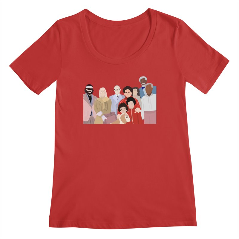 The Royal Tenenbaums Women's Regular Scoop Neck by Alison Sommer's Artist Shop