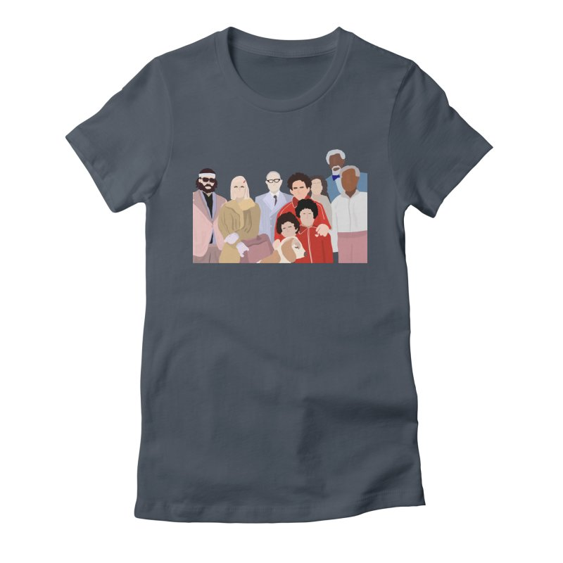 The Royal Tenenbaums Women's T-Shirt by Alison Sommer's Artist Shop