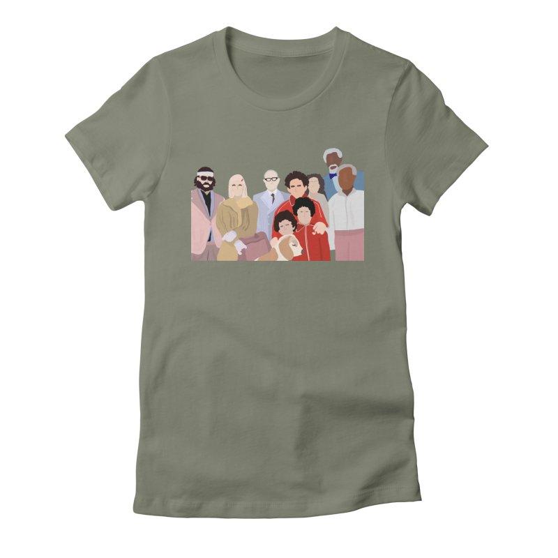 The Royal Tenenbaums Women's T-Shirt by Alison Sommer's Artist Shop