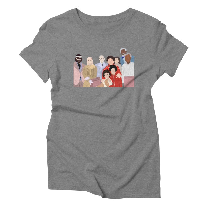 The Royal Tenenbaums Women's Triblend T-Shirt by Alison Sommer's Artist Shop