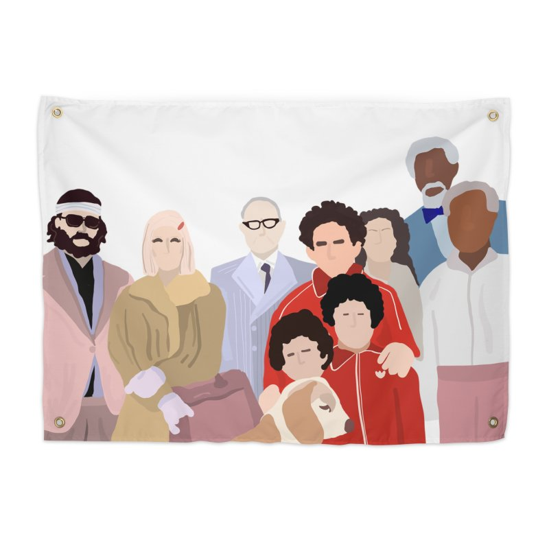 The Royal Tenenbaums Home Tapestry by Alison Sommer's Artist Shop