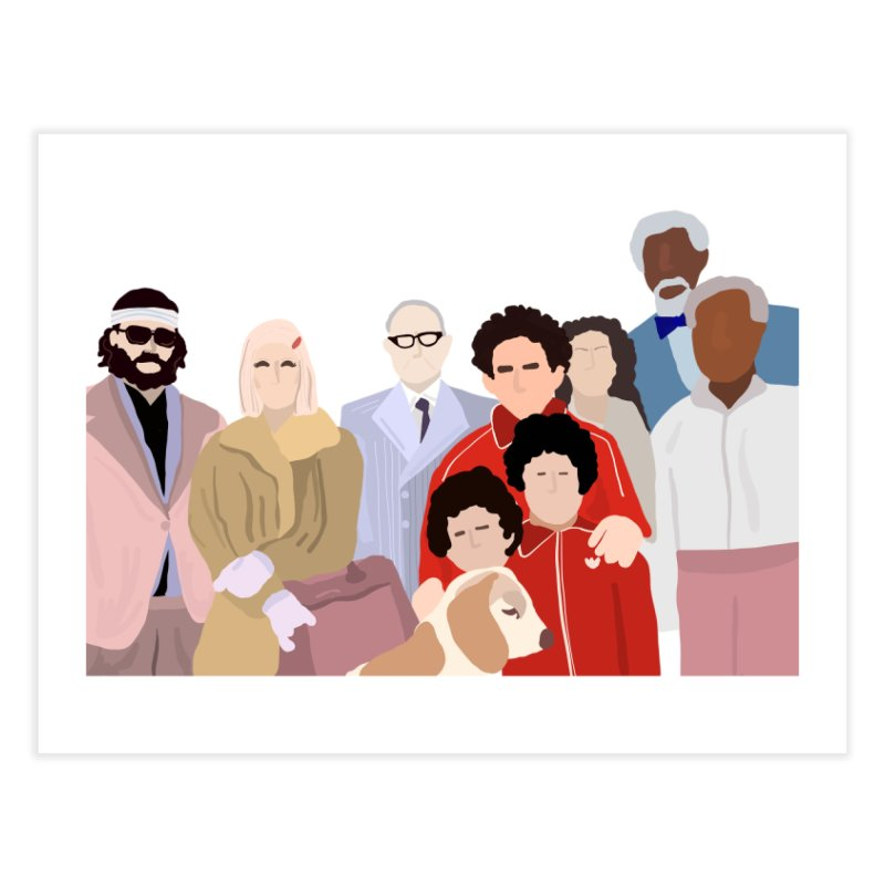 The Royal Tenenbaums Home Fine Art Print by Alison Sommer's Artist Shop