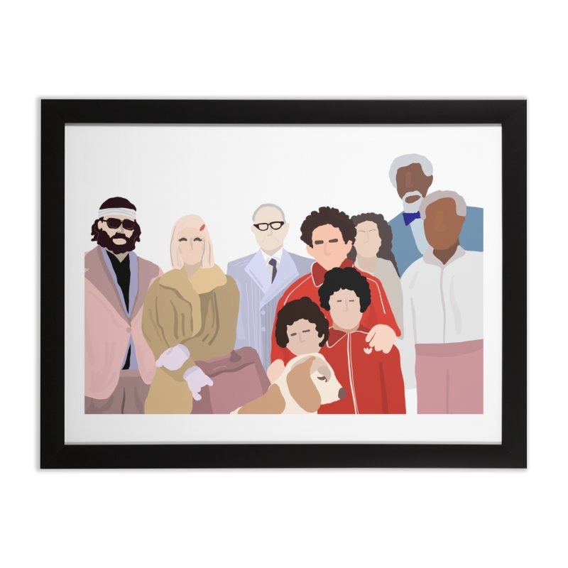 The Royal Tenenbaums Home Framed Fine Art Print by Alison Sommer's Artist Shop