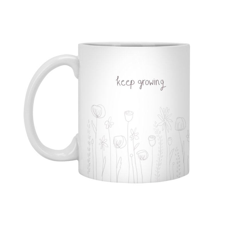 Growing Accessories Mug by Alison Sommer's Artist Shop