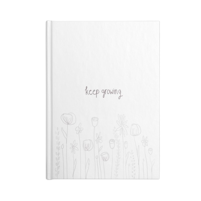 Growing Accessories Notebook by Alison Sommer's Artist Shop