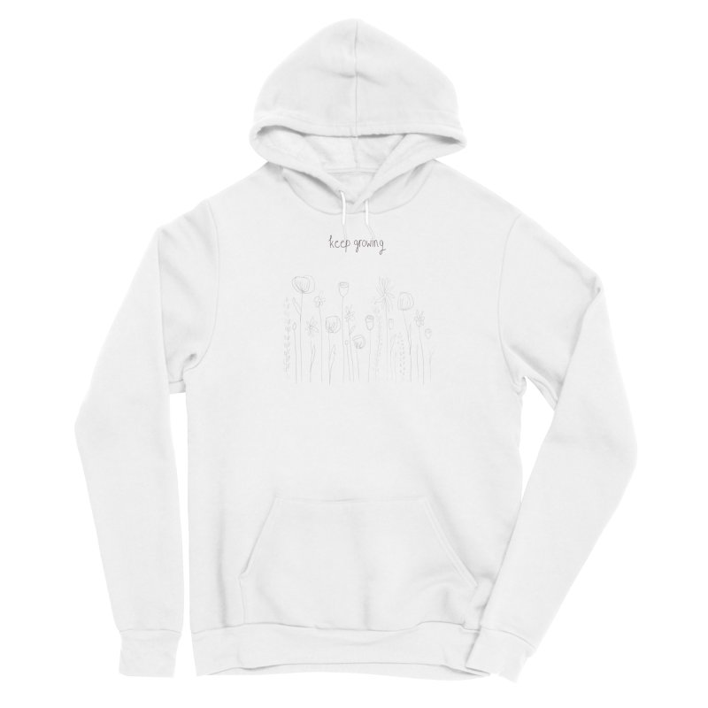 Growing Men's Pullover Hoody by Alison Sommer's Artist Shop