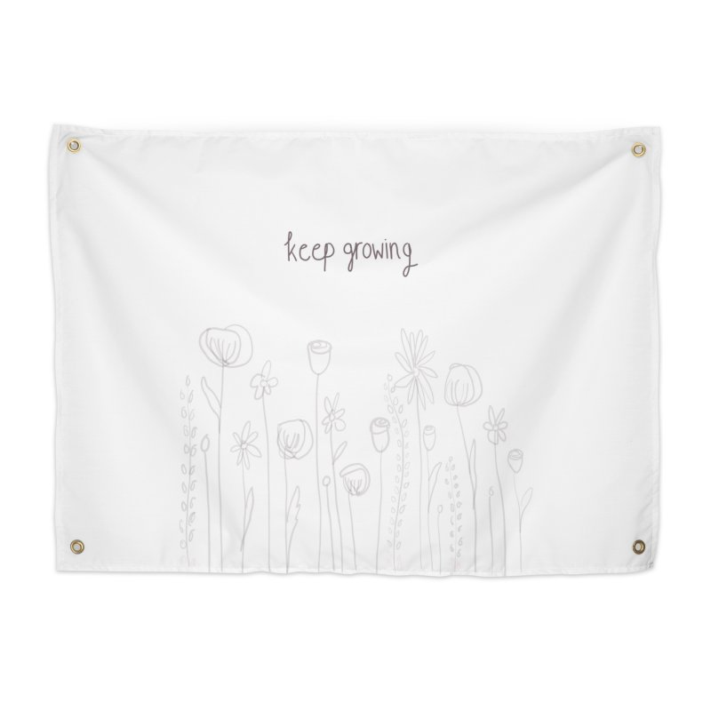 Growing Home Tapestry by Alison Sommer's Artist Shop