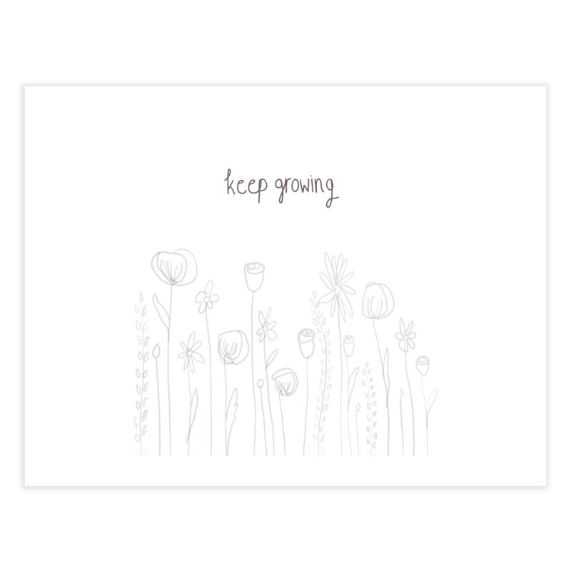 Growing Home Fine Art Print by Alison Sommer's Artist Shop