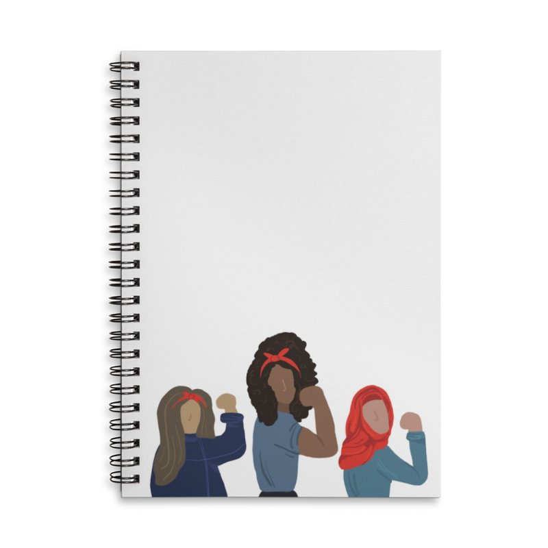 We Can Do It Accessories Notebook by Alison Sommer's Artist Shop