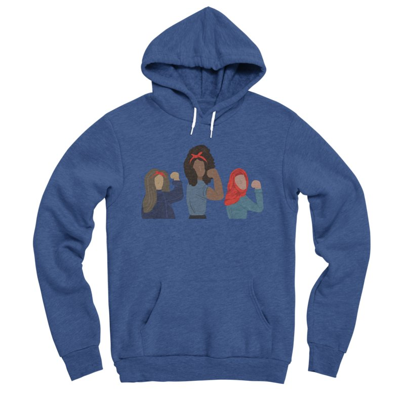 We Can Do It Men's Sponge Fleece Pullover Hoody by Alison Sommer's Artist Shop