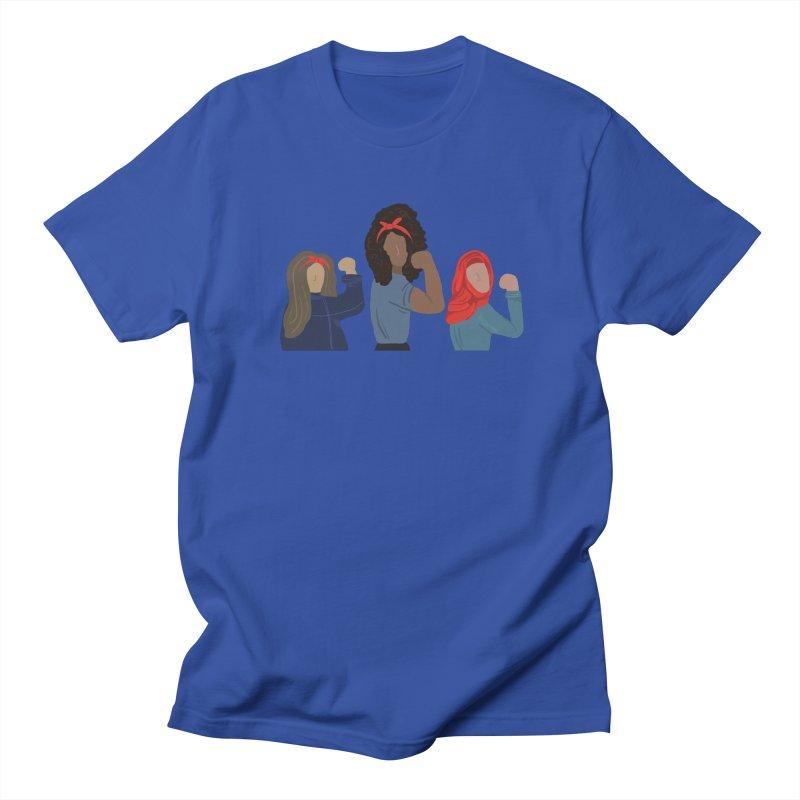 We Can Do It Men's Regular T-Shirt by Alison Sommer's Artist Shop
