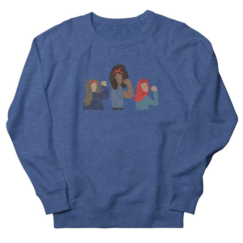 We Can Do It Women's Sweatshirt by Alison Sommer's Artist Shop