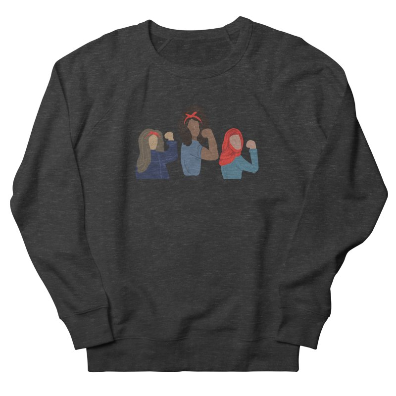 We Can Do It Men's French Terry Sweatshirt by Alison Sommer's Artist Shop