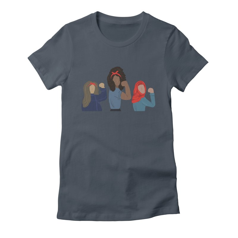 We Can Do It Women's T-Shirt by Alison Sommer's Artist Shop