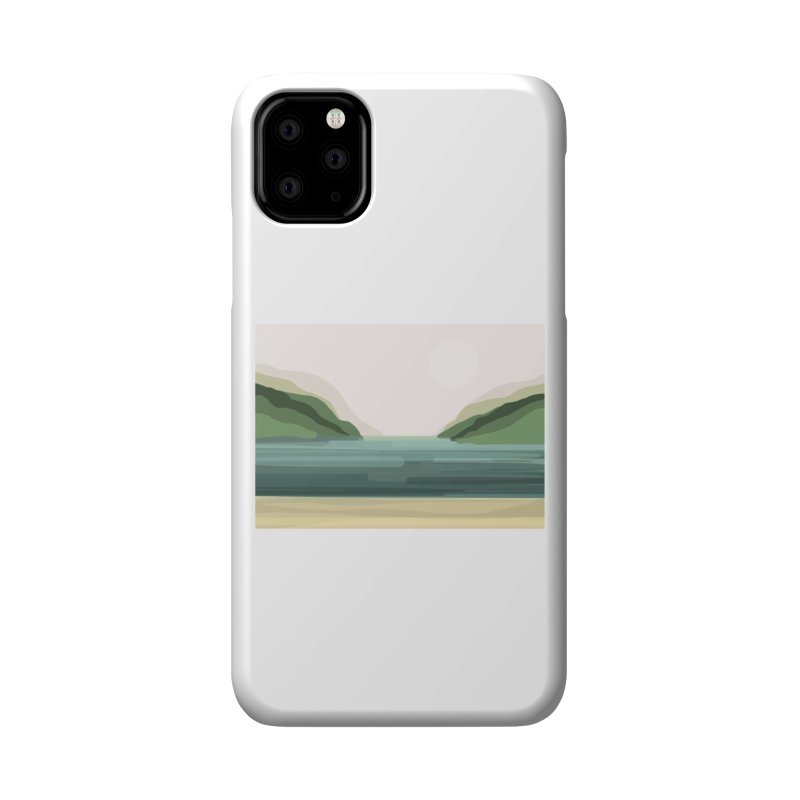 Lake View Accessories Phone Case by Alison Sommer's Artist Shop