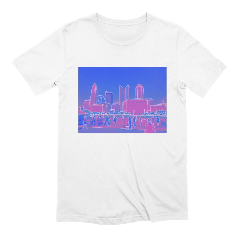 Columbus, OH (Color) Men's T-Shirt by Alison Sommer's Artist Shop