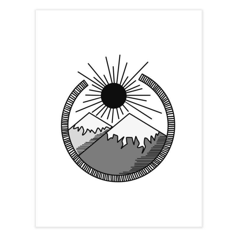 Mountains Home Fine Art Print by Alison Sommer's Artist Shop