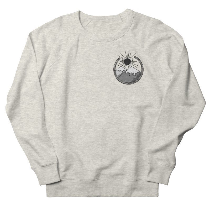 Mountains Women's Sweatshirt by Alison Sommer's Artist Shop