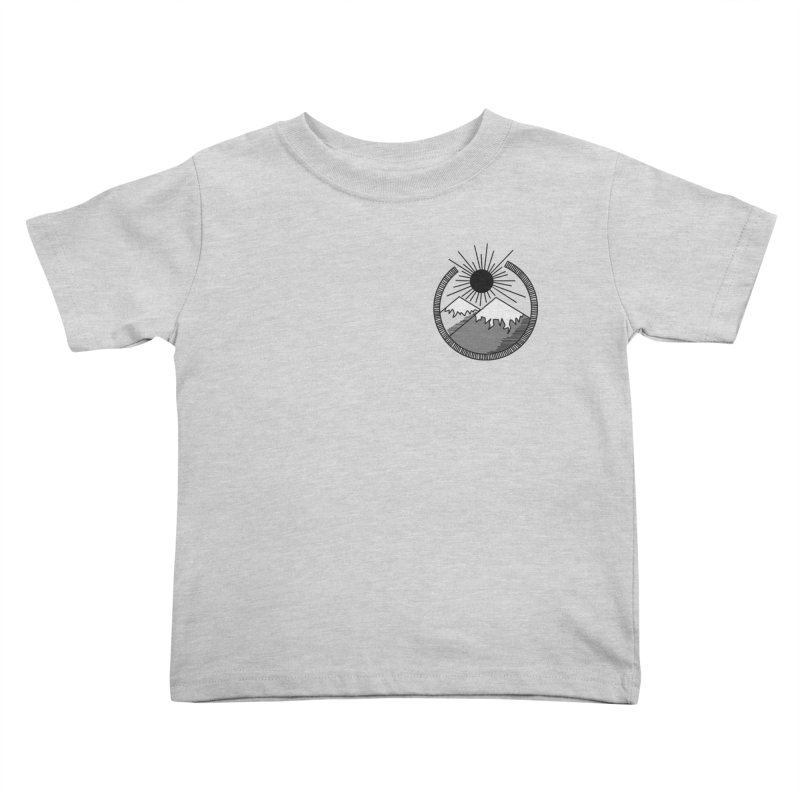 Mountains Kids Toddler T-Shirt by Alison Sommer's Artist Shop