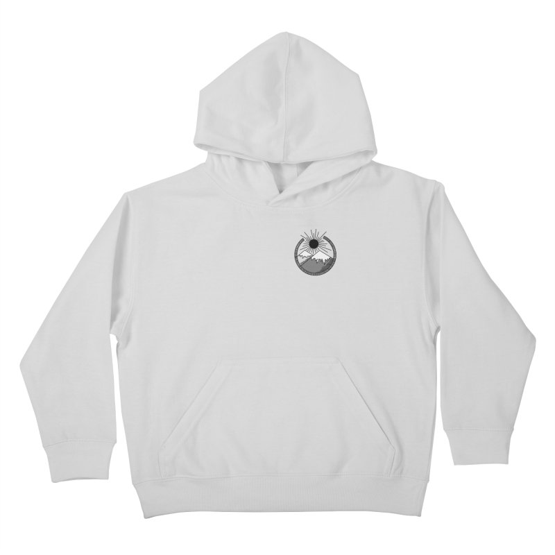 Mountains Kids Pullover Hoody by Alison Sommer's Artist Shop