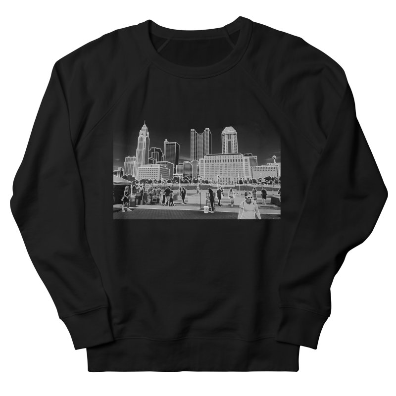 Columbus, OH (B&W) Women's Sweatshirt by Alison Sommer's Artist Shop