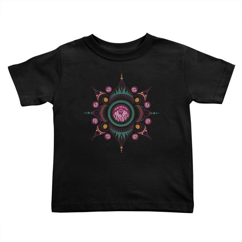 Harmony Kids Toddler T-Shirt by Alison Sommer's Artist Shop