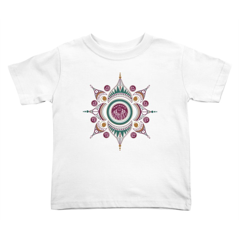 Harmony Kids Toddler T-Shirt by Alison Sommer's Artist Shop