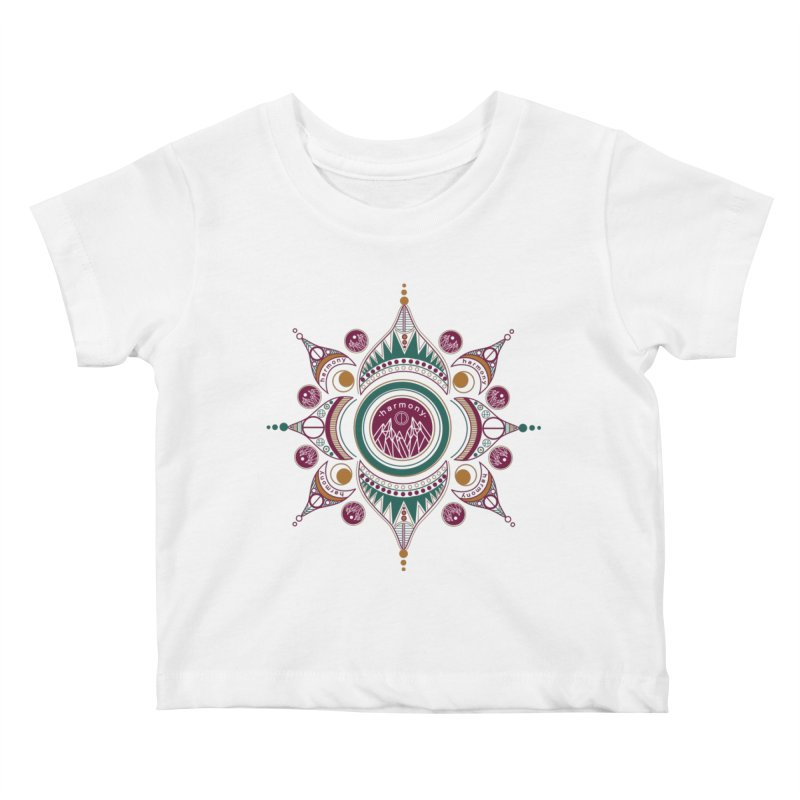 Harmony Kids Baby T-Shirt by Alison Sommer's Artist Shop