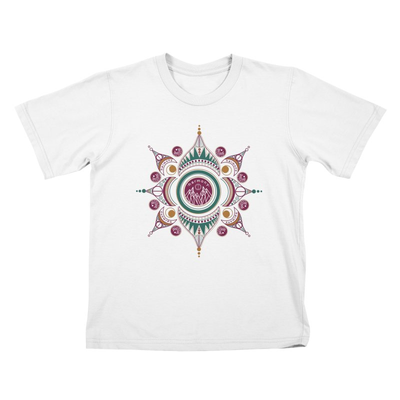Harmony Kids T-Shirt by Alison Sommer's Artist Shop