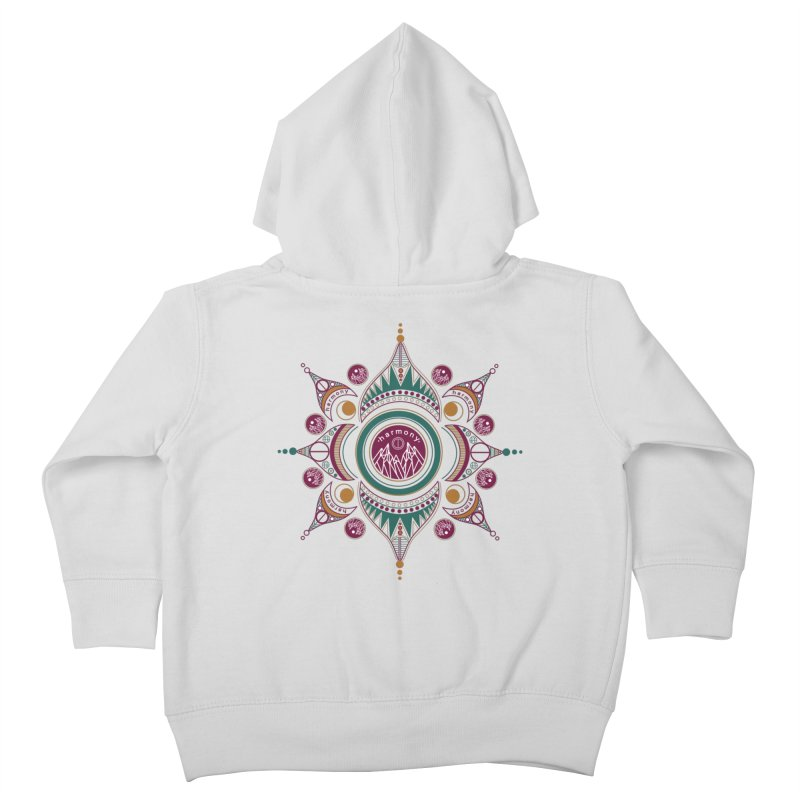 Harmony Kids Toddler Zip-Up Hoody by Alison Sommer's Artist Shop