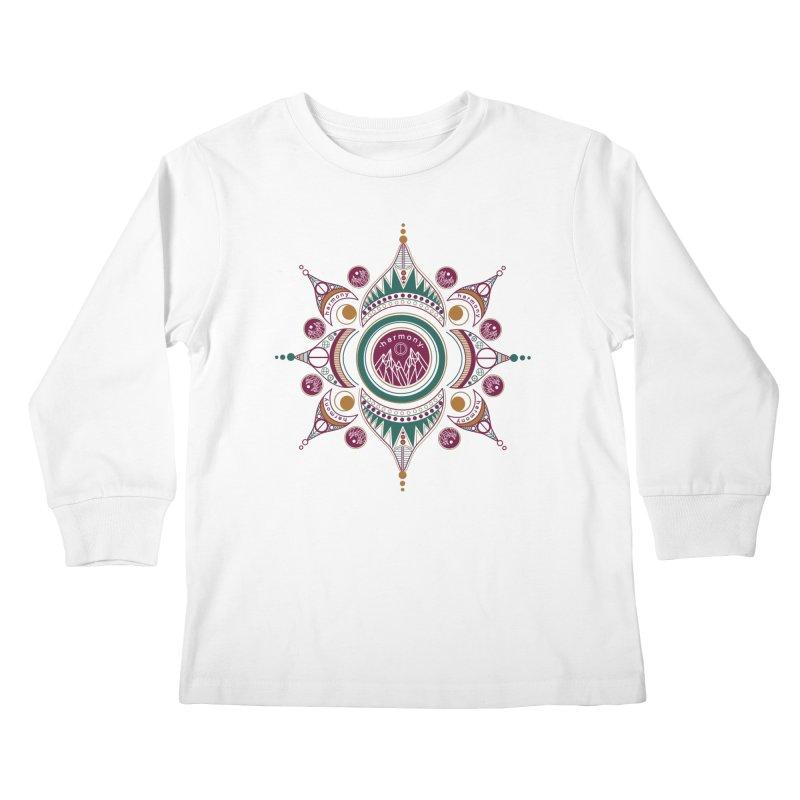 Harmony Kids Longsleeve T-Shirt by Alison Sommer's Artist Shop