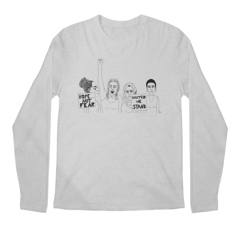 Unity Men's Longsleeve T-Shirt by Alison Sommer's Artist Shop