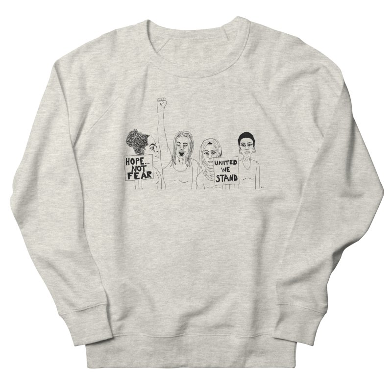 Unity Women's Sweatshirt by Alison Sommer's Artist Shop