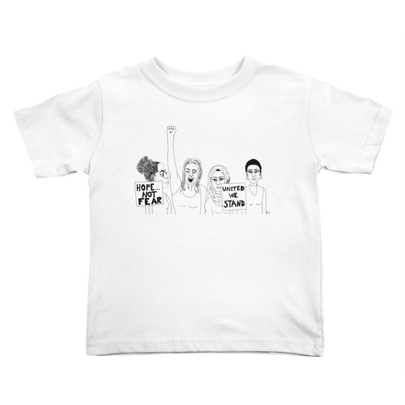 Unity Kids Toddler T-Shirt by Alison Sommer's Artist Shop