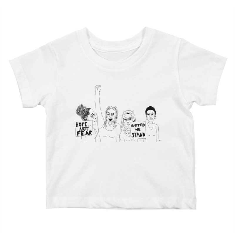 Unity Kids Baby T-Shirt by Alison Sommer's Artist Shop