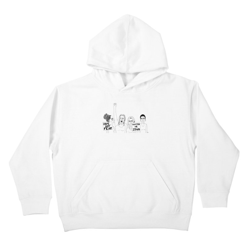 Unity Kids Pullover Hoody by Alison Sommer's Artist Shop