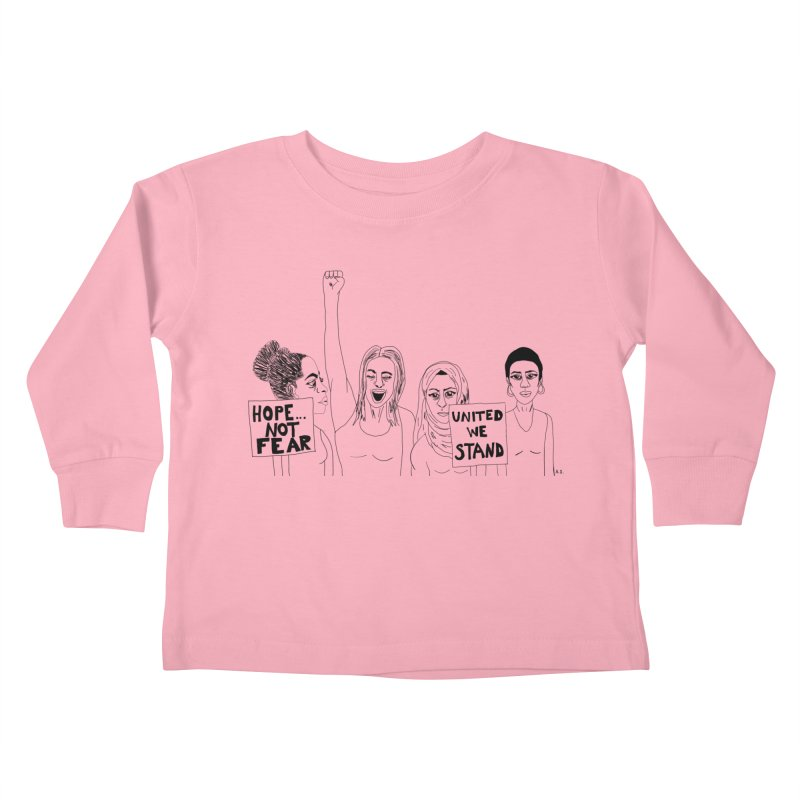 Unity Kids Toddler Longsleeve T-Shirt by Alison Sommer's Artist Shop