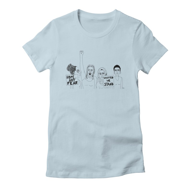 Unity Women's T-Shirt by Alison Sommer's Artist Shop