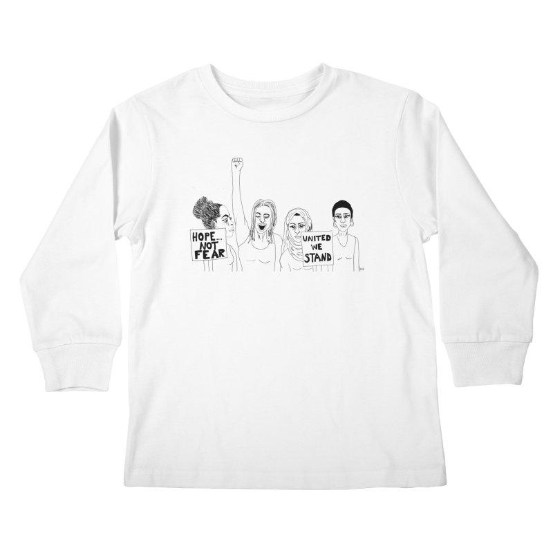 Unity Kids Longsleeve T-Shirt by Alison Sommer's Artist Shop