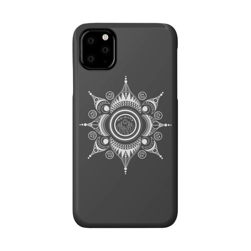 Harmony (White) Accessories Phone Case by Alison Sommer's Artist Shop