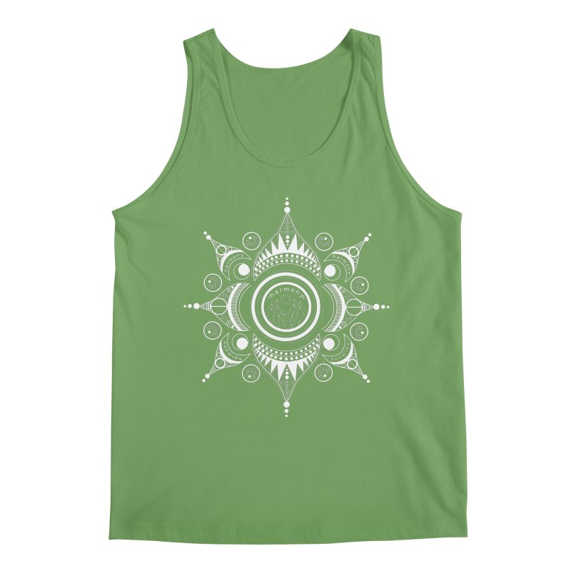 Harmony (White) Men's Tank by Alison Sommer's Artist Shop