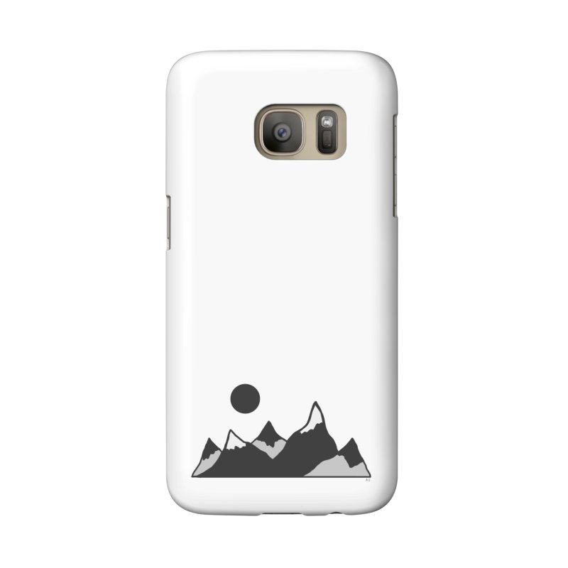 Gray Mountains Accessories Phone Case by Alison Sommer's Artist Shop