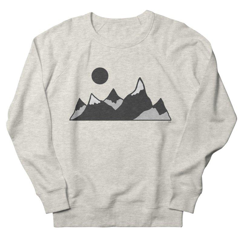 Gray Mountains Women's Sweatshirt by Alison Sommer's Artist Shop