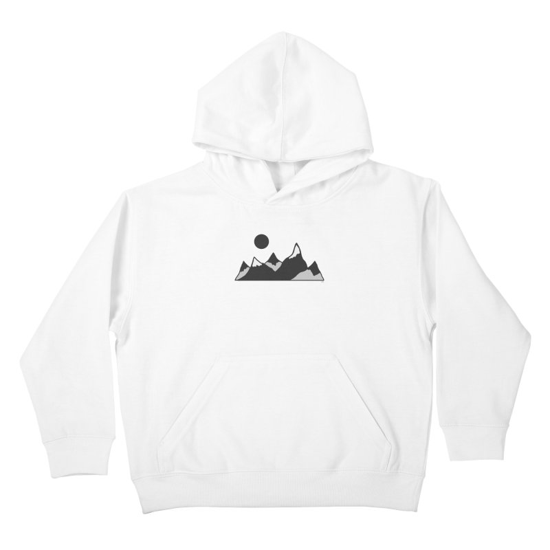 Gray Mountains Kids Pullover Hoody by Alison Sommer's Artist Shop