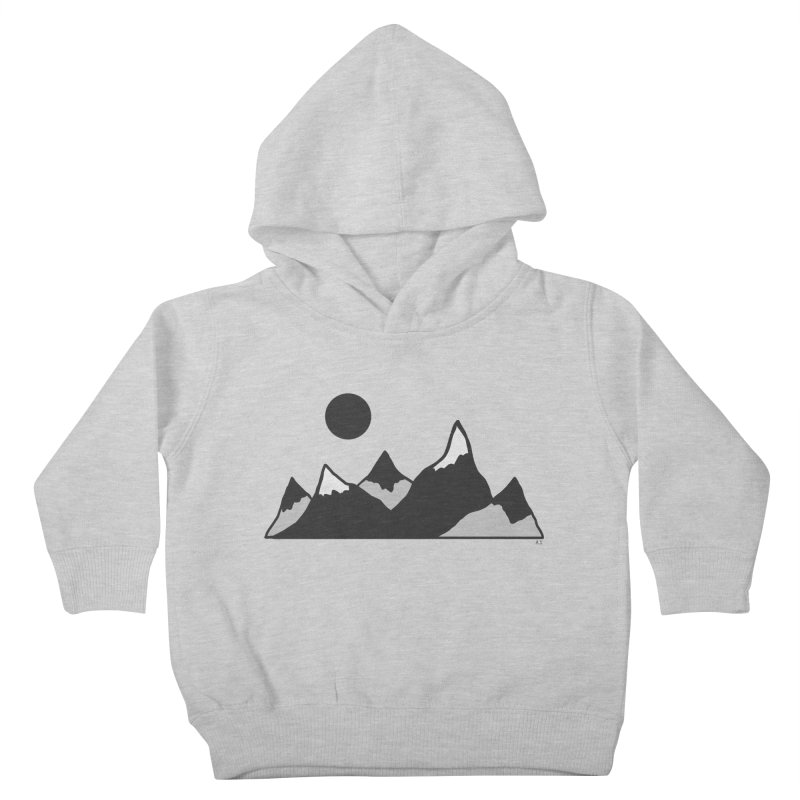 Gray Mountains Kids Toddler Pullover Hoody by Alison Sommer's Artist Shop