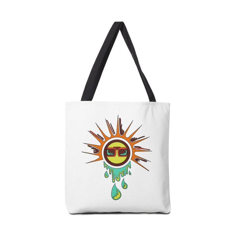 Melting Sun Accessories Tote Bag Bag by Alison Sommer's Artist Shop